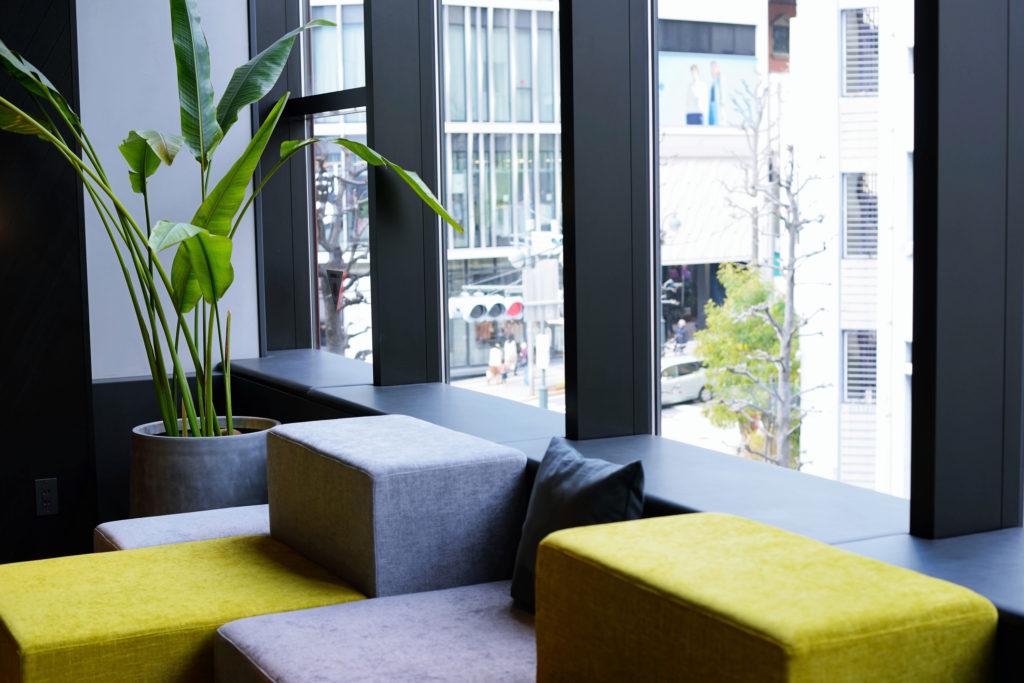 green, modern office of an energy efficient business